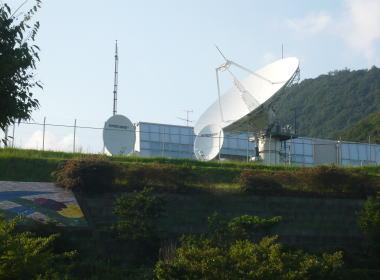 スカパーJSAT スーパーバード 山口ネットワーク管制センター (山口県山口市)